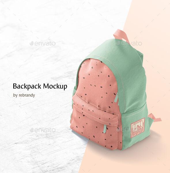 Backpack Mockup (2)