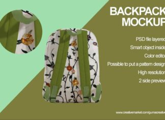 Backpack Mockup (3)