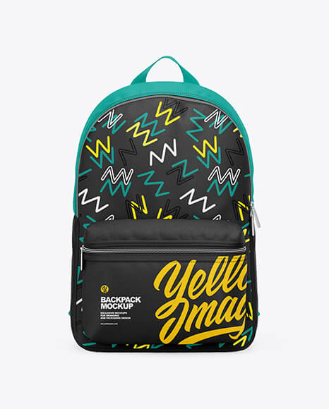 Backpack Mockup - Front View (1)