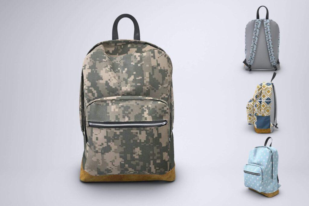 Backpack Rucksack Mock-Up (1)