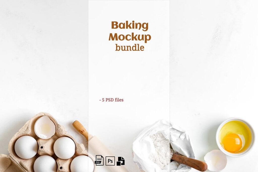 Baking Mockup Set (1)