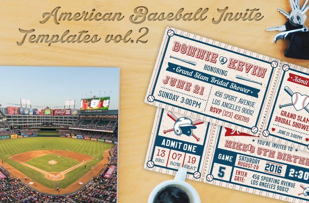 Baseball Ticket Party Invites 1 (1)