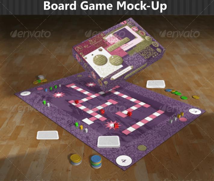 Board Game Mock-Up