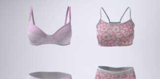 Bra and Panties or Sports Bra and Boxers Mock-Up (1)