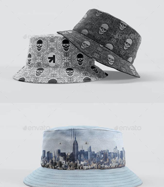 Bucket Hat Mockup Pack