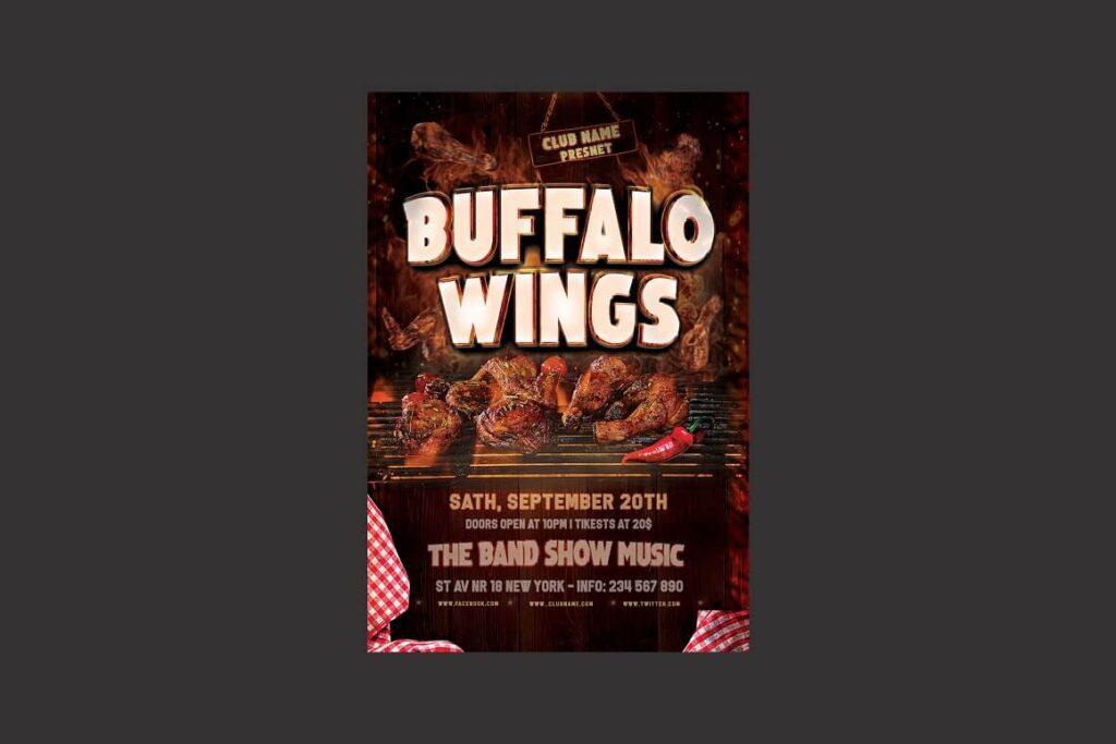 Buffalo Wings Flyer (1)