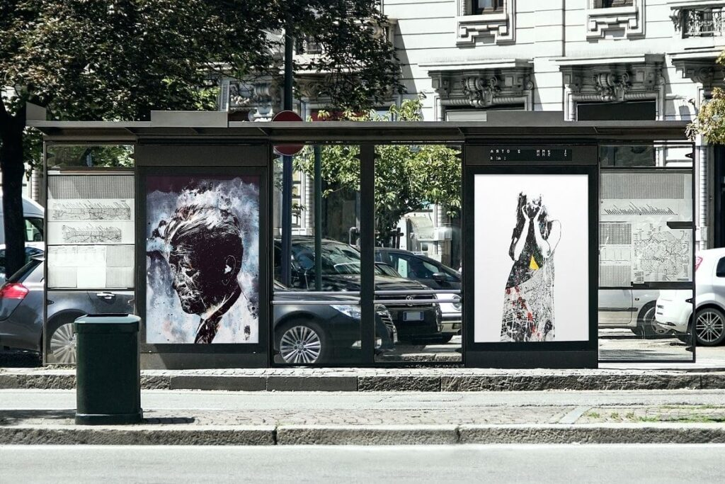 Bus Stop Mock-up (1)