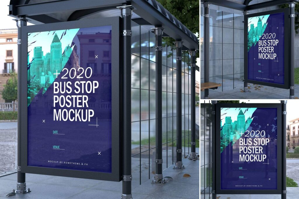 Bus Stop Poster - Mockups FH1 (1)