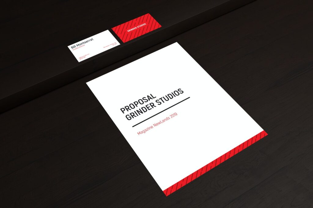 Business Card Mockup and Letter A4 Mockup (1)