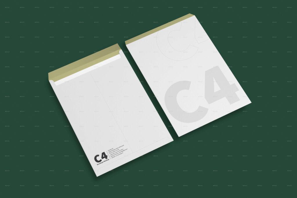 C4 Envelope Mockups (2)
