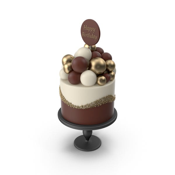 Cake with Birthday Topper (1)