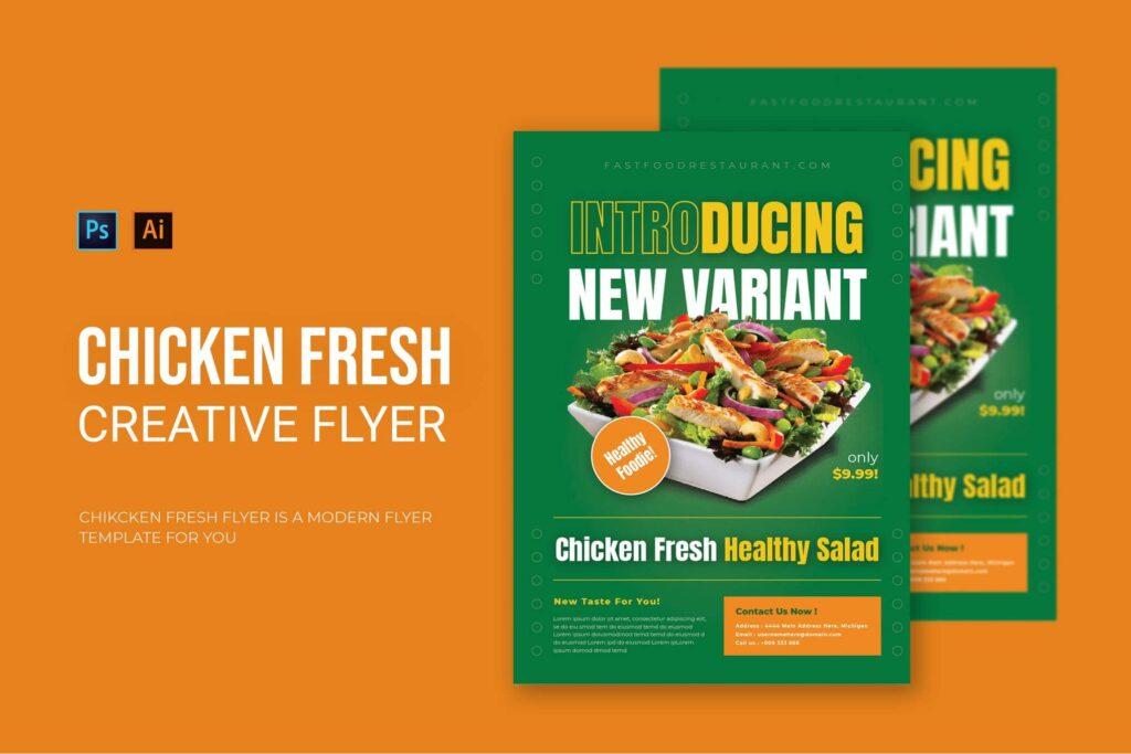 Chicken Fresh - Flyer (1)