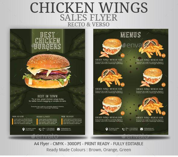 Chicken Wings Flyer (1)