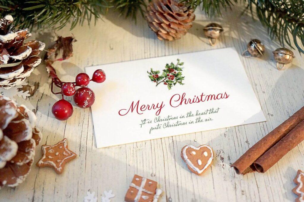 Christmas Card Mockup (1)
