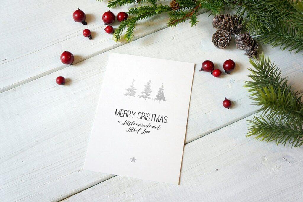 Christmas Card Mockup (5)