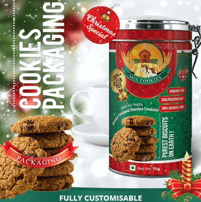 Cookies Packaging Christmas Special