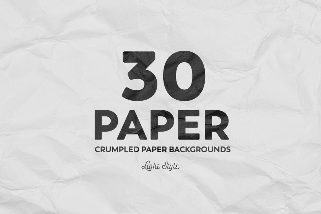 Crumpled Paper Backgrounds
