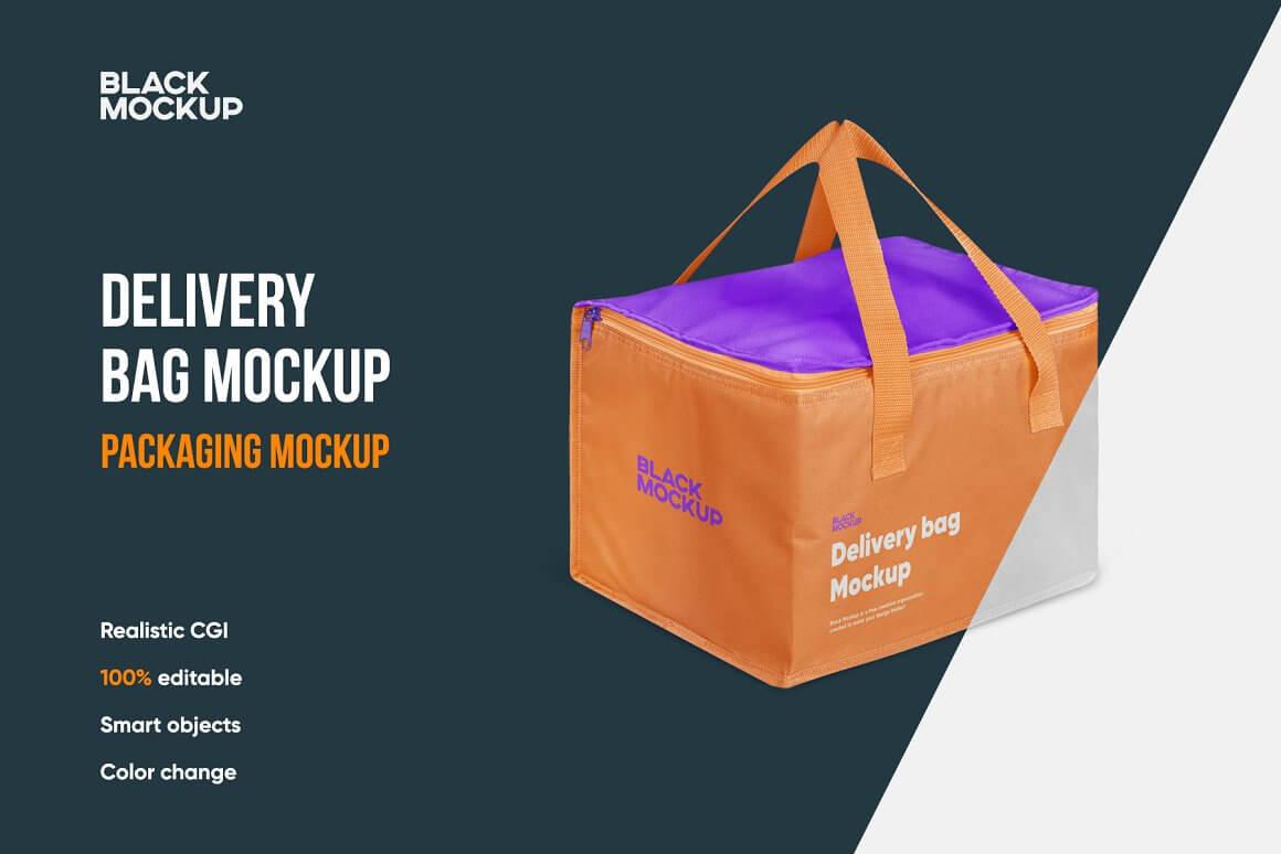 Delivery Bag Mockup (2)