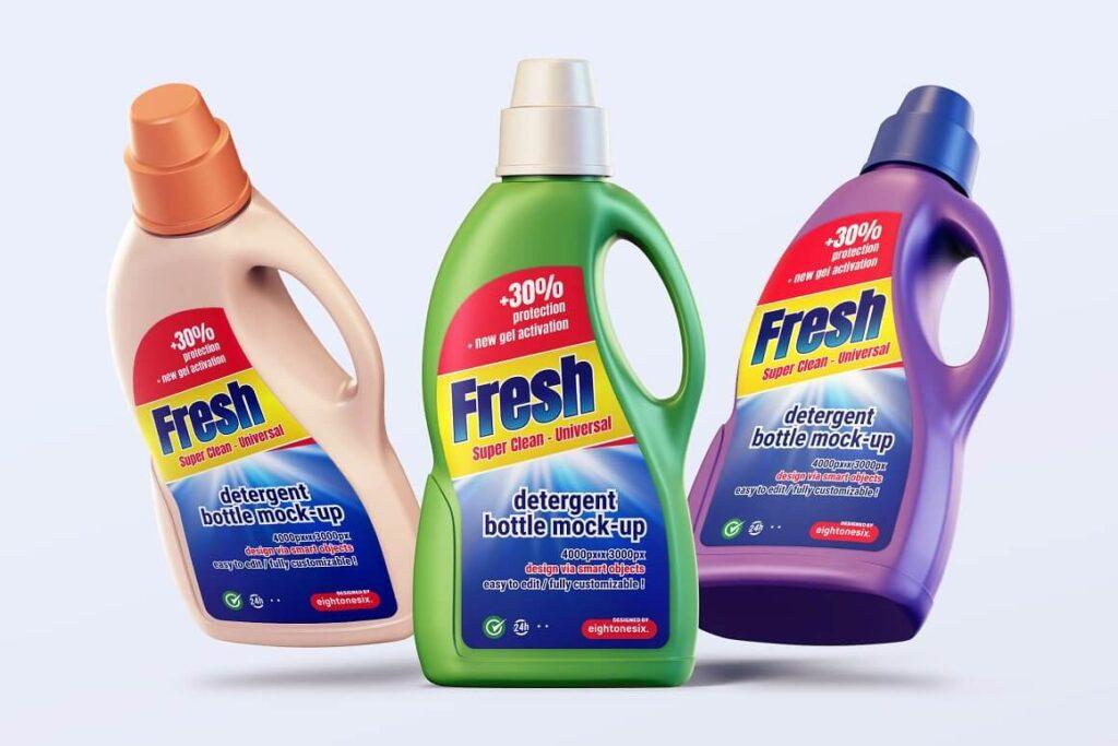 Detergent Bottle Mock-up Template (1)