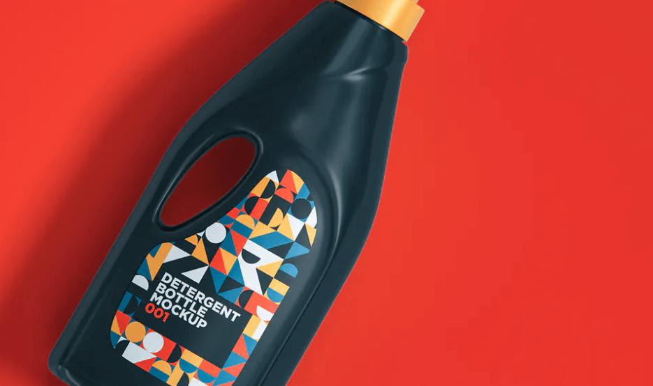 Detergent Bottle Mockup 001