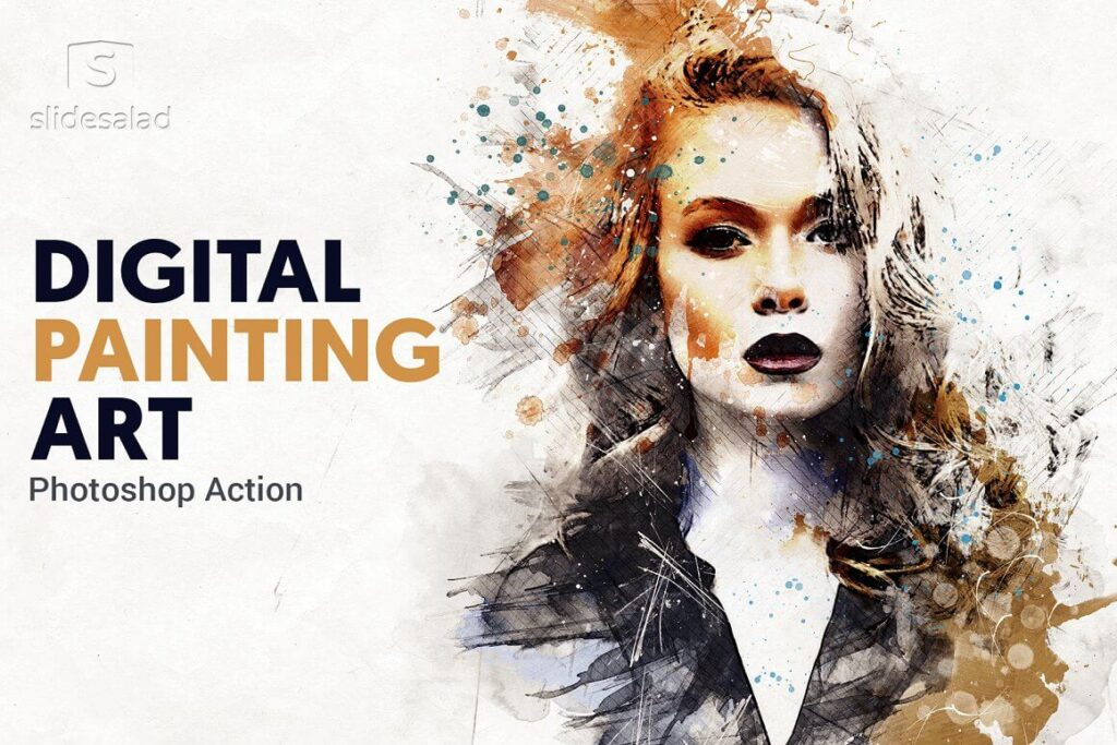 Digital Painting Photoshop Action (1)