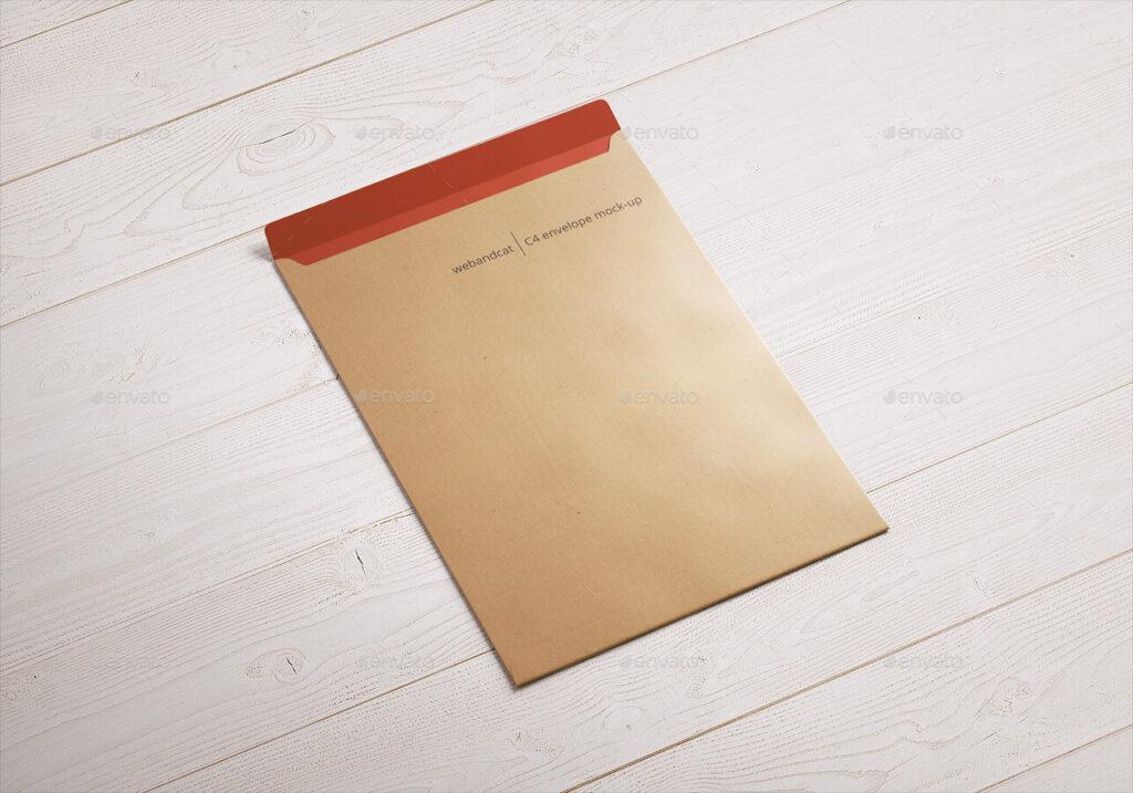 Envelope C4 Mock-Up (3)