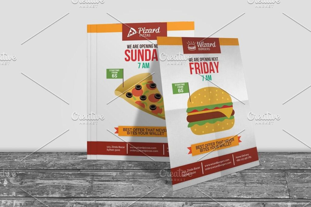 Fast Food Shop Opening Flyer (1)