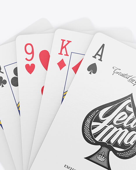 Five Playing Cards Mockup (3)