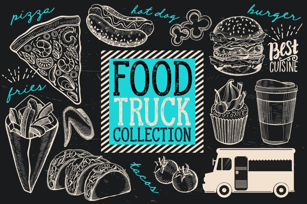 Food Truck Elements (1)