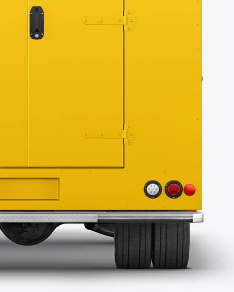 Food Truck Mockup - Back View (1)