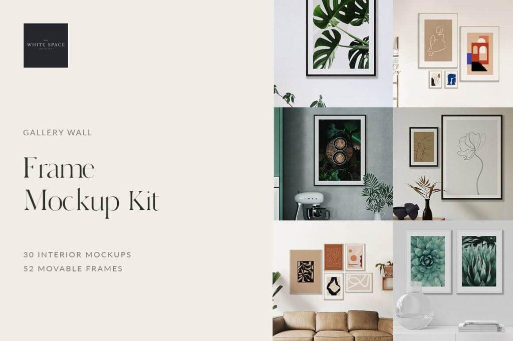 Frame Mockup Kit - Pro (1)