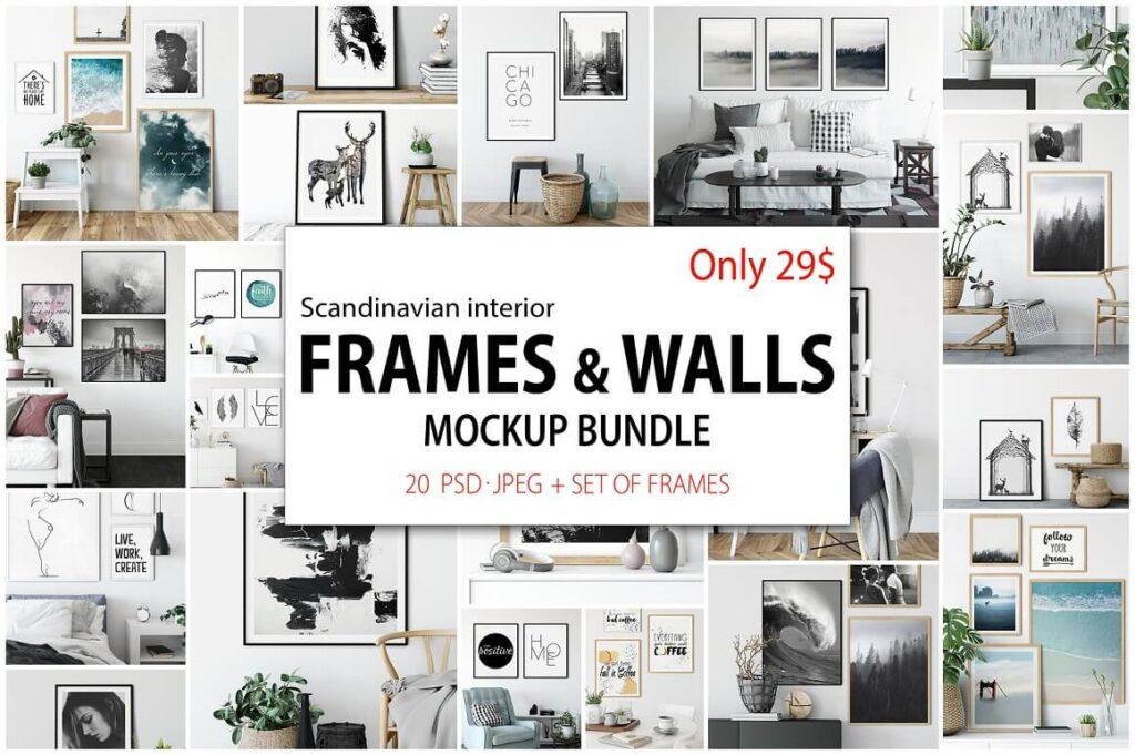 Frames & Walls Scandinavian Bundle (1)