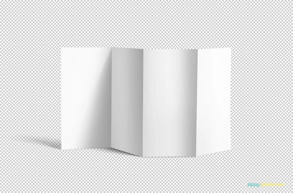 Free 4 Fold Brochure Mockup PSD Template1 (1)