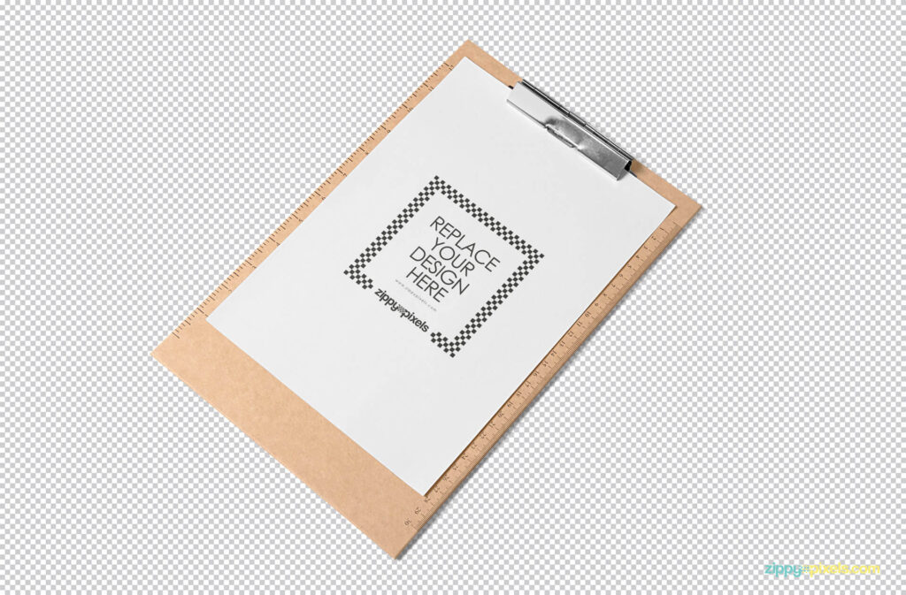 Free A4 Size Paper Mockup PSD Template1 (1)