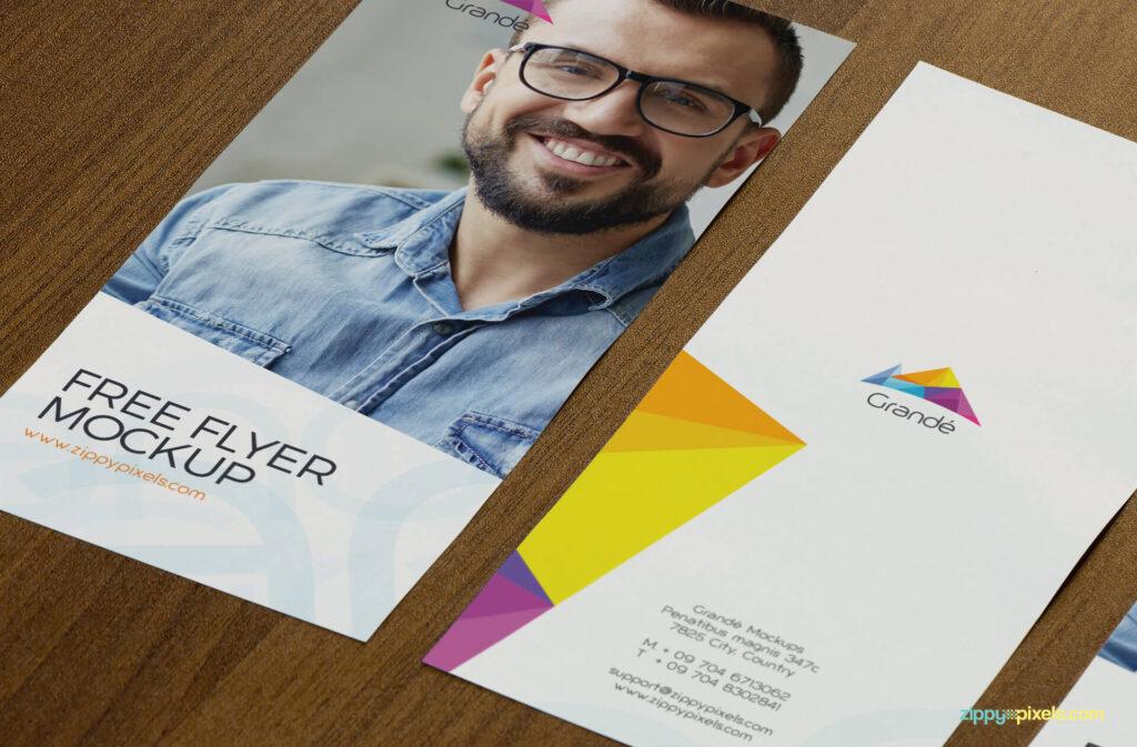 Free Appealing Flyer Mockup PSD Template2 (1)