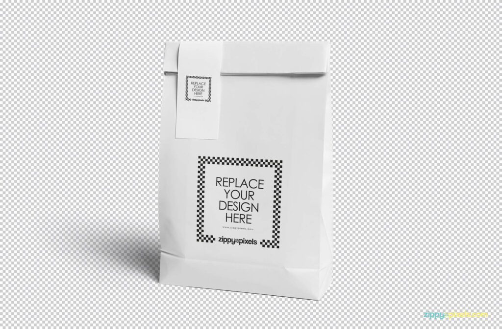 Free Awesome Paper Bag Mockup PSD Template1 (1)