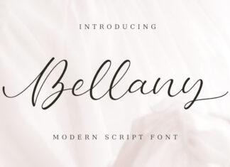Free Bellany Modern Script Font (1)