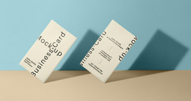Free Branding Business Card Mockup PSD Template (1)