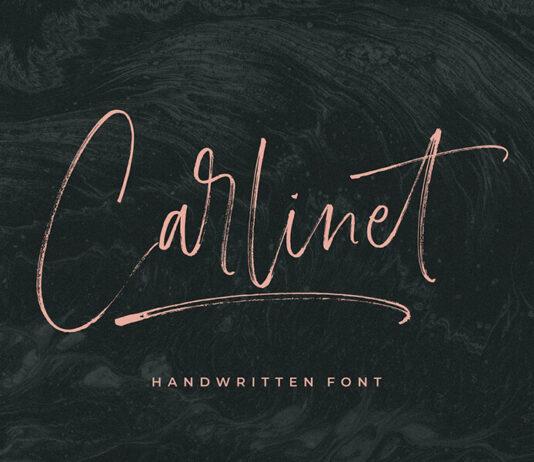 Free Carlinet Handwritten Font (1)