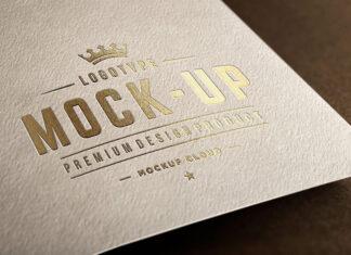 Free Close-Up Logo Mockups PSD Templates (1)