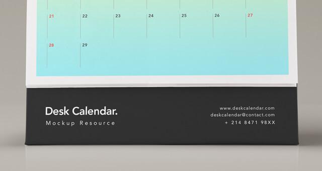 Free Desk Calendar Mockup PSD Template2 (1)
