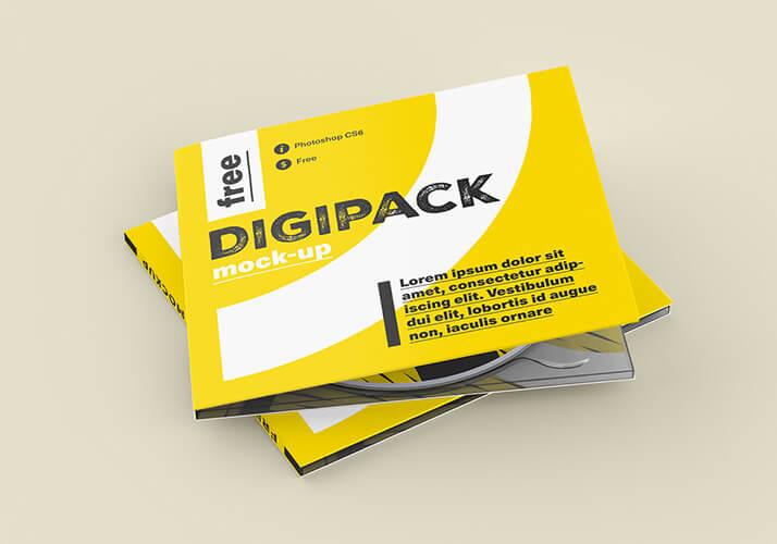 Free Digipack Mockup PSD Template (1)