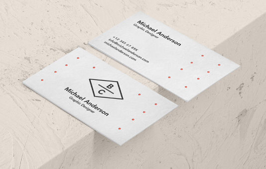 Free Displayable Business Card Mockup PSD Template (1)