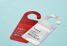 Free Door Hanger Mockup PSD Template (1)