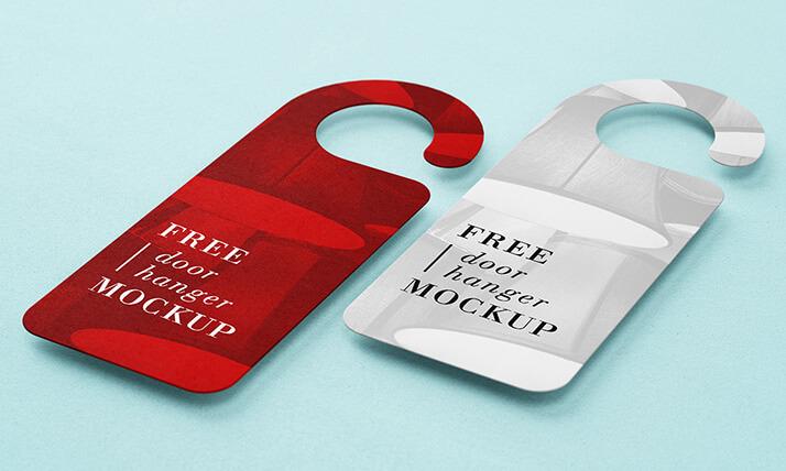 Free Door Hanger Mockup PSD Template1 (1)
