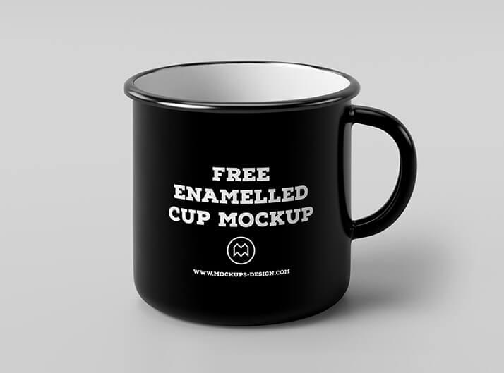 Free Enamel Mug Mockup PSD Template (1)