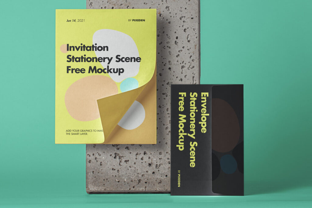 Free Envelope Stationery Mockup PSD Template (1)