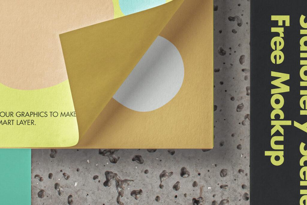 Free Envelope Stationery Mockup PSD Template1 (1)