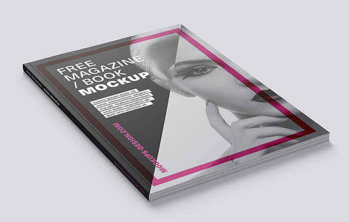 Free Fashionable Magazine Mockup PSD Template (1)