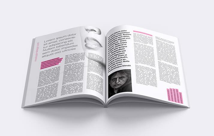Free Fashionable Magazine Mockup PSD Template2 (1)